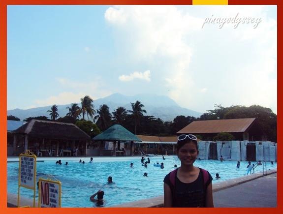 Splashing around Batis ng Makiling Spring Resort in Laguna