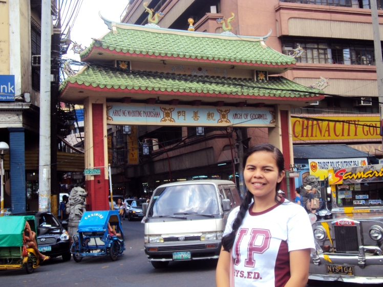 The Arch of Goodwill representing the Filipino-Chinese relations