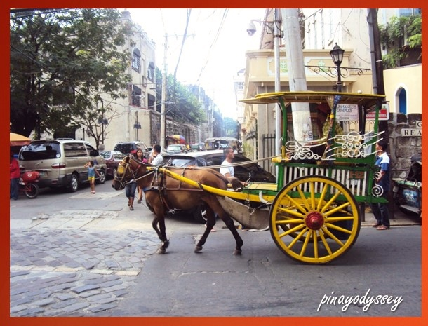 Horse-drawn calesa