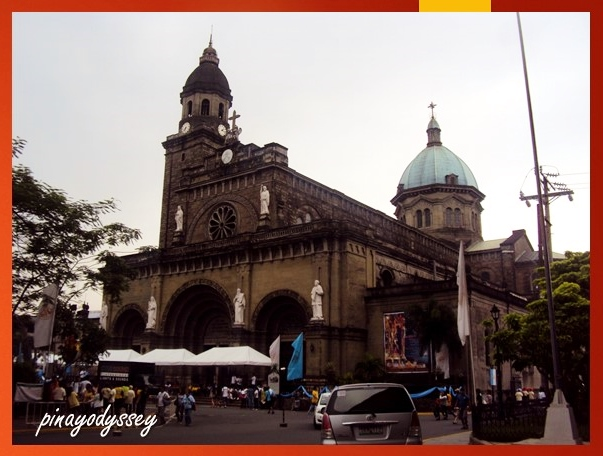 Manila Cathedral (as seen from Palacio del Gobernador)