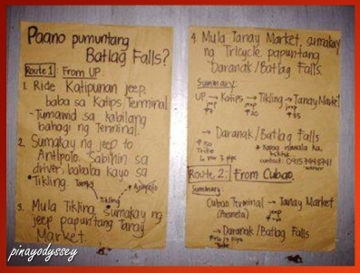 How to go to Batlag Falls in Tanay, Rizal