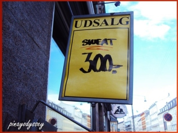 Because they sell sweat in CPH. haha