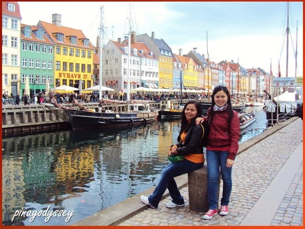 My sister and I at Nyhavn