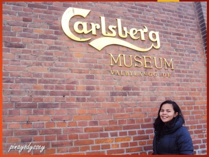 At the Carlsberg Museum