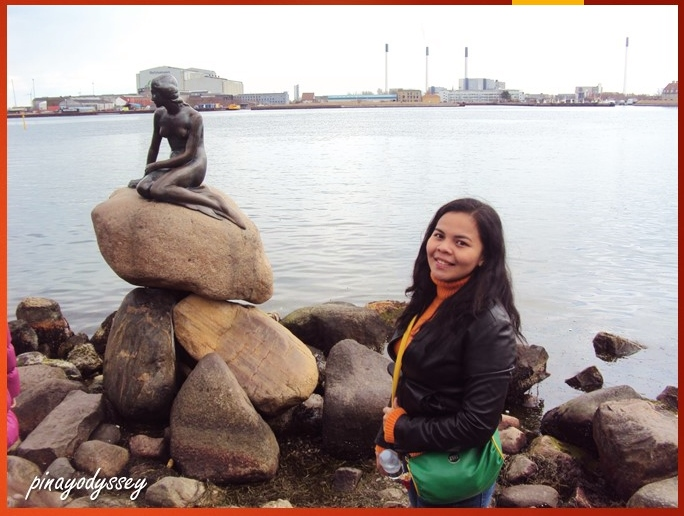 First ever photo with Den Lille Havfrue (the Little Mermaid)