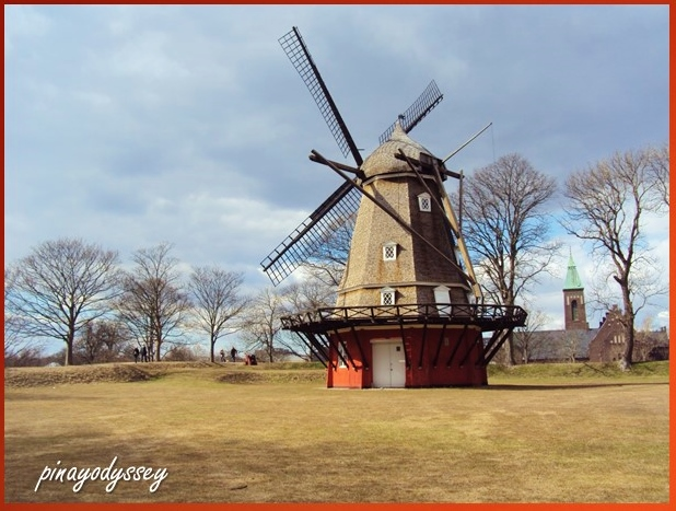 A windmill at the Kastellet