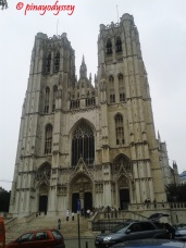 CATHEDRAL OF ST MICHAEL AND ST GUDULA - BELGIUM