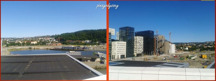 View of Oslo from the Operah House