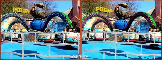 Polyp, an octopus ride