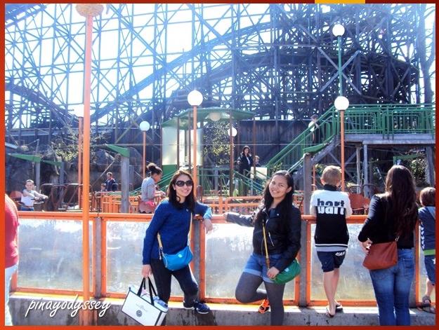 The 82-year old rutschebanen (roller coaster)