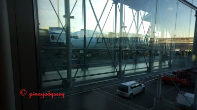 Waiting at Oslo Airport, Gardermoen