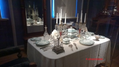 Table setting from the 1700s