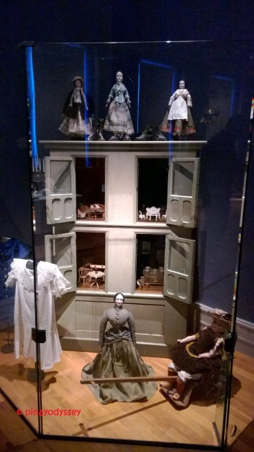 A doll house from the late 1800s