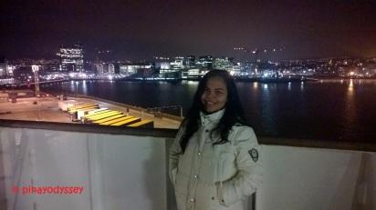 Leaving Oslo port