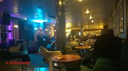 Swedish singer on board