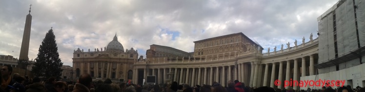 St. Peter's Square panorama