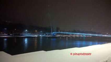 The Ypsilon bridge