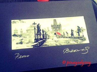 Lovely Charles Bridge in Prague