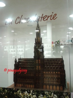 A chocolate Grand Place