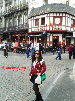 Just me in Brussels :)