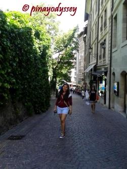 @ Geneva's Old Town