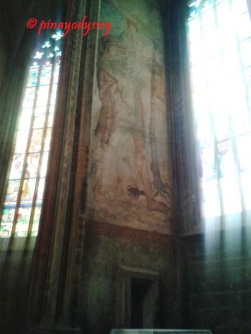 Sta. Barbara Church, frescoes