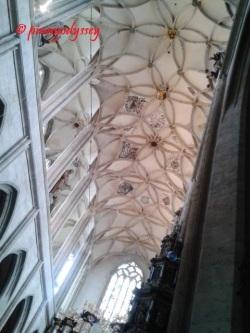 Sta. Barbara Church, ceiling adornments