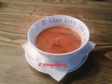 Creamy starter soup