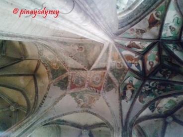 Sta. Barbara Church, Ceiling