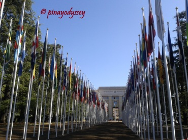The United Nations headquarter