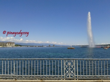 Beautiful Lake Geneva with the Jet d'Eau