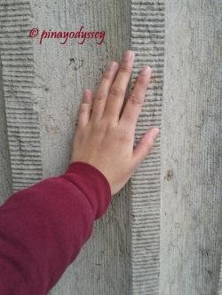 I felt the wall!