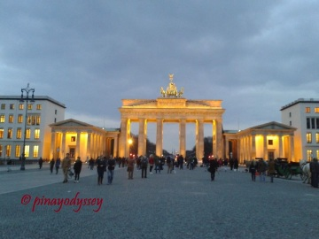 Beautiful Brandenburger Tor at night