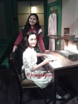 With Anne Frank