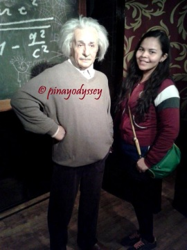 Me and Albert Einstein