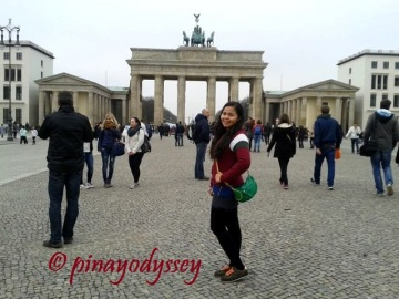 Just me at the Brandenburger Tor