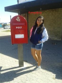 The Danish post box