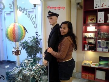 With Mr. Postman