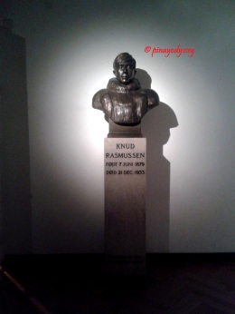 Knud Rasmussen, a Danish explorer and anthropologist, the father of Eskimology