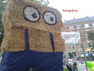 The hay mascot!