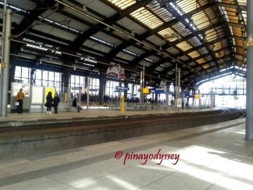 A train station in Berlin