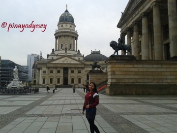 The German Church and the Konzerthaus Berlin in the background