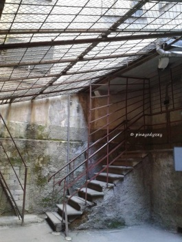 Where the prisoners get fresh air
