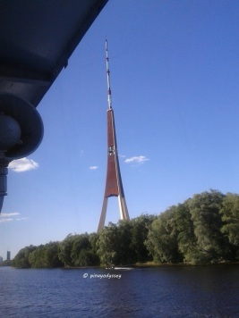 Riga TV and Radio Tower, the tallest structure in the EU