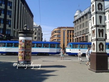 Riga's trams