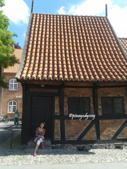 The oldest half-timbered house, built in 1527