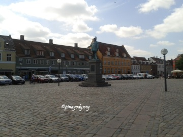 Køge Torv, the largest market square in Denmark outside Copenhagen