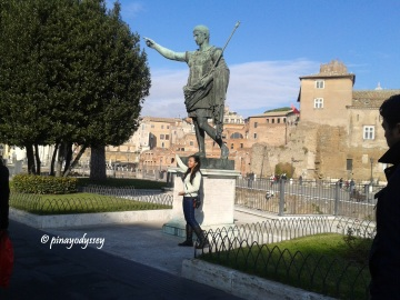 Another statue of another Roman emperor