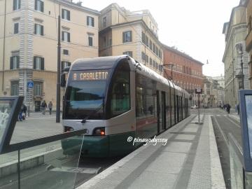 The Italian tram