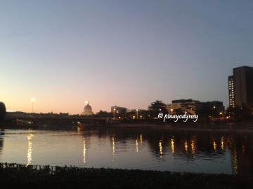 Rome from the Tiber River